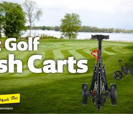 Best Golf Push Carts & Pull Carts Reviews – Updated 2021