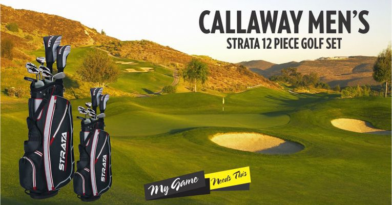 Callaway Strata Review : Most Affordable Golf Set