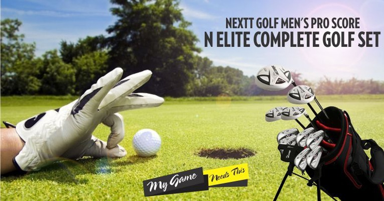 Nextt Golf Men's Pro Score N Elite Review : Most Stylish Nextt Pro Score Golf Clubs
