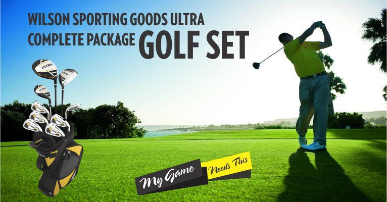 Wilson Golf Men's Ultra Complete : Best Golf Set For The Money