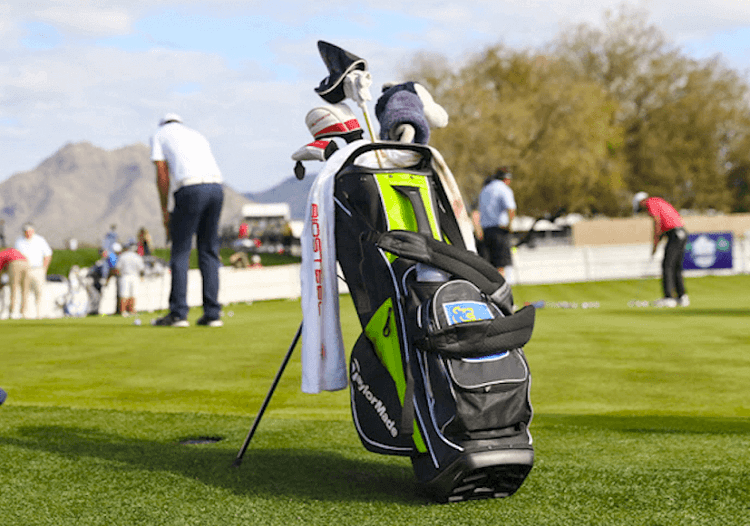 junior golf bags with stand