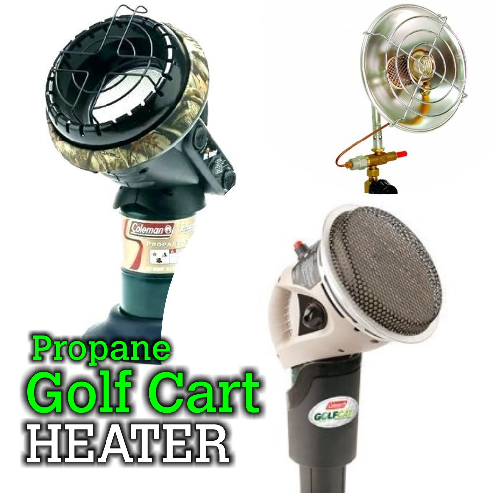 coleman golf cart heater