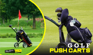 GOLF-PUSH-CARTS