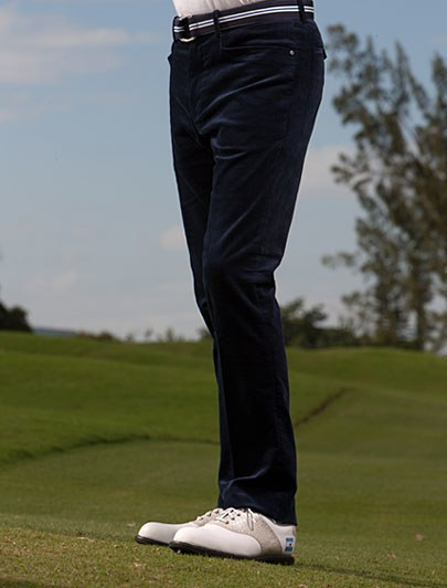 relaxed fit golf pants