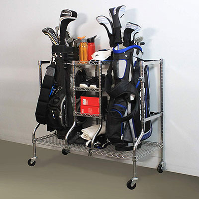 Safe racks organizer rack- golf equipment