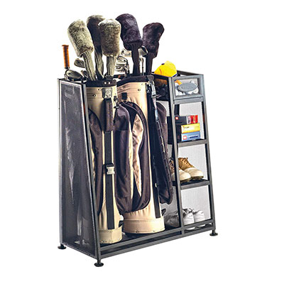 Suncast Golf Bag Organiser Rack