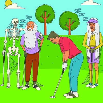 how long to play 18 holes of golf