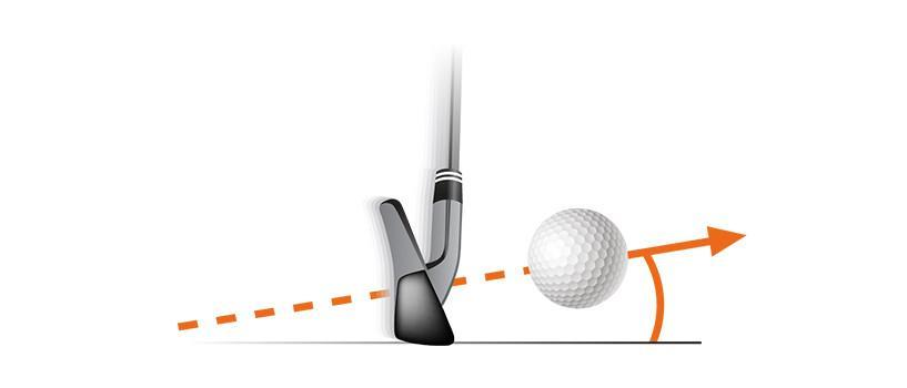 which golf club is designed to hit the ball with the highest launch angle