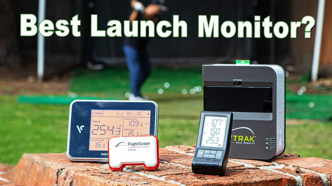 portable golf launch monitor